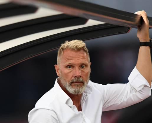 GC-Trainer Thorsten Fink entschuldige sich nach dem desaströsen Cup-Out bei den mitgereisten GC-Fans.
