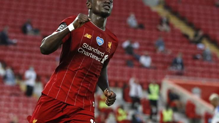 Sadio Mané erzielte den letzten Treffer der Liverpooler