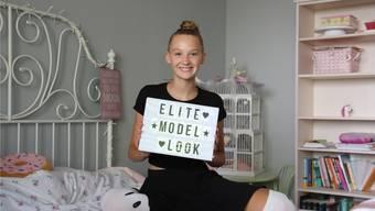 Die 14-jährige Nele Tams ist die Jüngste von 18 Finalisten.