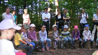 Das Beispiel Windisch lieferte dem Aarauer Einwohnerrat Argumente für einen eigenen Waldkindergarten.