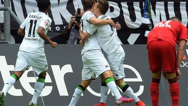 Jubel bei Mönchengladbach: Die Champions League winkz