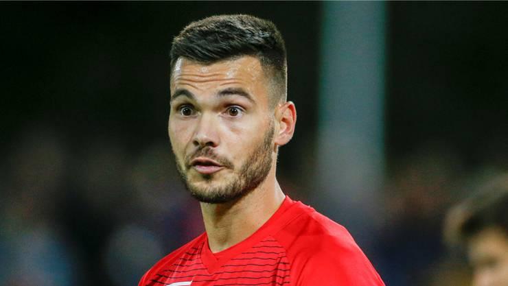 Muss den FC Aarau trotz acht Saisontoren verlassen: Goran Karanovic.