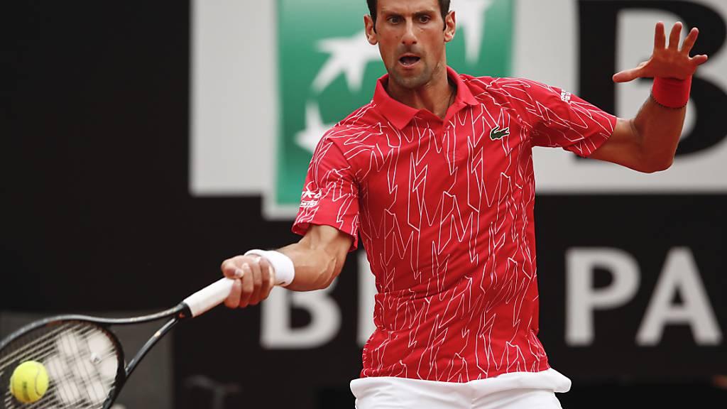 5. Turniersieg von Djokovic in Rom