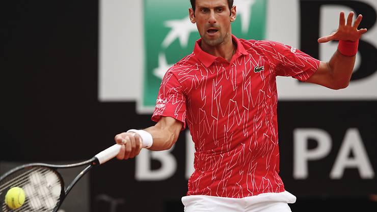 Novak Djokovic gewinnt in Rom einen hochklassigen Final gegen Diego Schwartzman