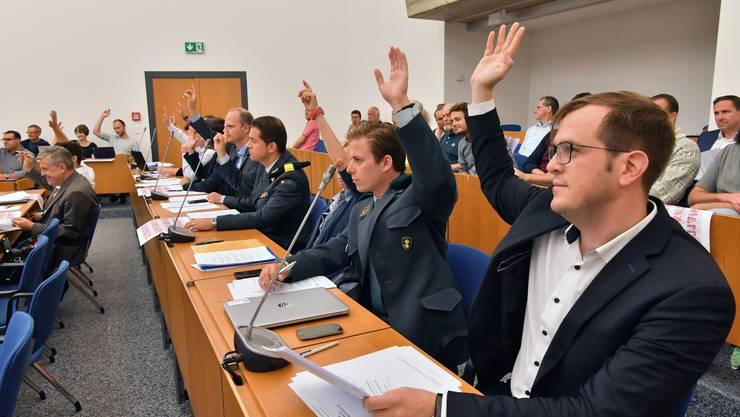 Gemeinderat Stadtrat Gemeindeparlament Olten 1.Sitzung neue Legislatur 2017-2021