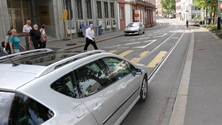 Am 19. Juni entscheidet das Stimmvolk, ob die Elisabethenstrasse in Richtung Kleinbasel gesperrt wird.