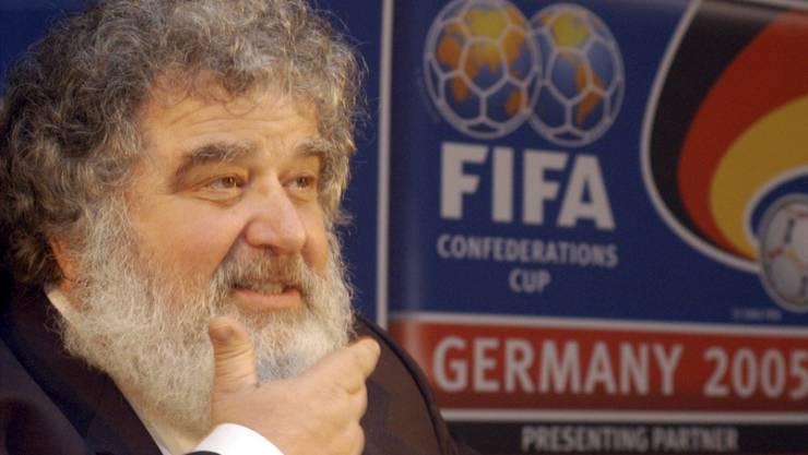Das ehemalige Mitglied des FIFA-Exekutionskomitees, Chuck Blazer, im Jahr 2005.