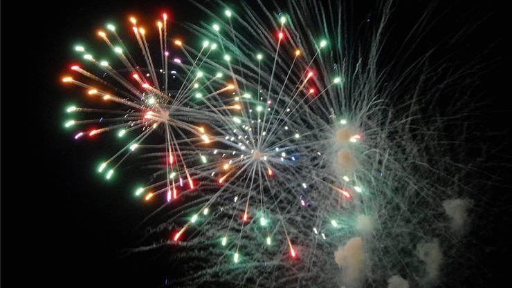 Dieses Jahr zum letzten Mal prüfungsfrei möglich: Feuerwerk für gehobene Ansprüche.Walter Schwager