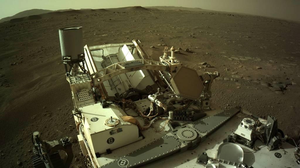 Rover «Perseverance» schickt erstmals Audio-Aufnahme von Mars-Fahrt