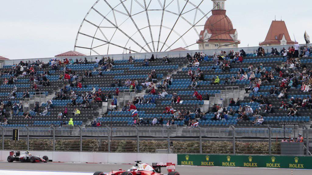Sotschi bleibt mindestens bis 2025 im Formel-1-Rennkalender