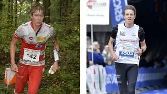 Die Gebrüder Kyburz: Links Andreas, der sich von einer Verletzung erholen muss, rechts Matthias.