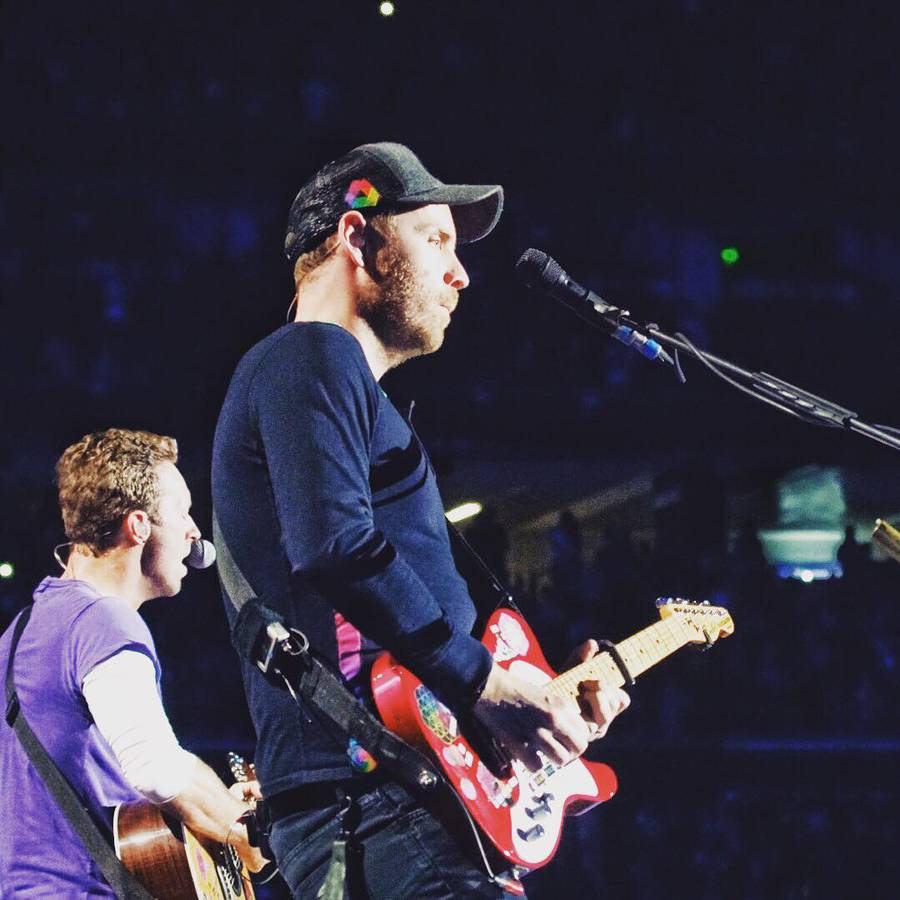 Coldplay (© instagram/coldplay)