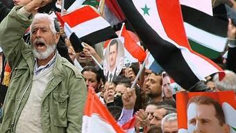 Unruhen in Syrien halten an.