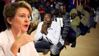 Simonetta Sommarugas Departement hat entschieden, 80 Flüchtlinge aufzunehmen.
