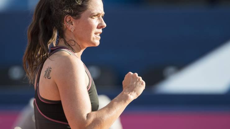 Auch mit 38 Jahren noch sehr leistungsfähig: Patty Schnyder