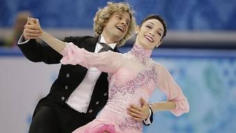 Meryl Davis und Charlie White tanzen sich zu Olympia-Gold