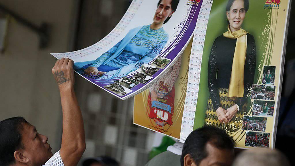 Wahlsieg für Aung San Suu Kyi und ihre Partei in Myanmar