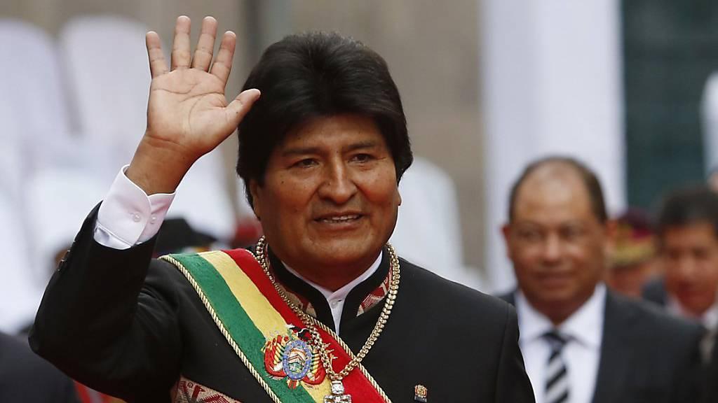 Morales strebt vierte Amtszeit an
