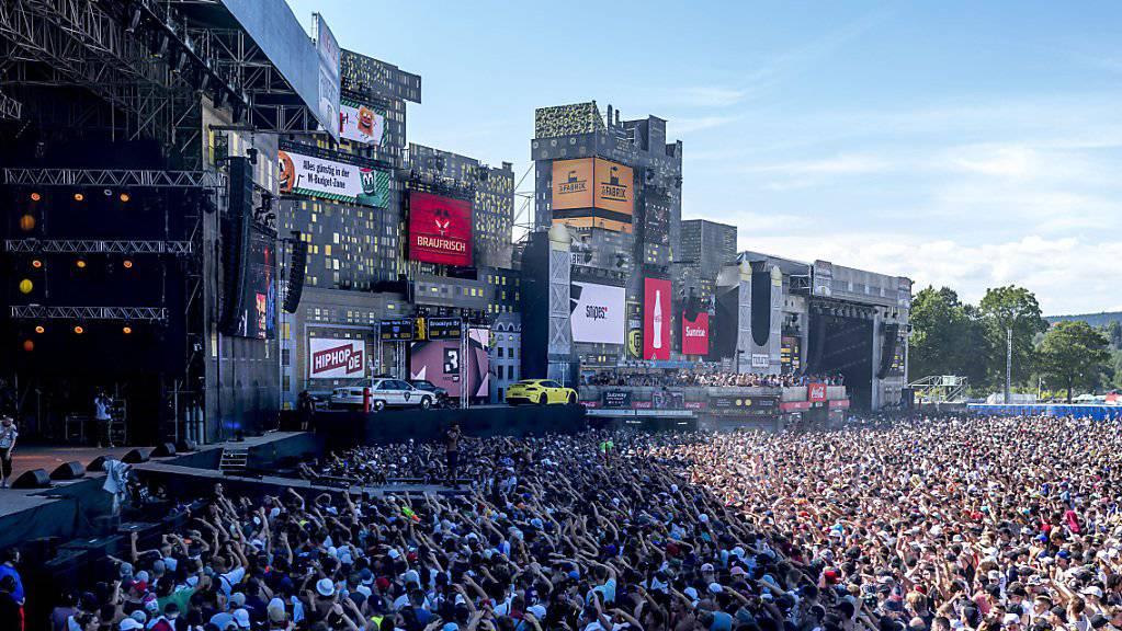 Das Openair Frauenfeld ist mit 180'000 Tickets ausverkauft.