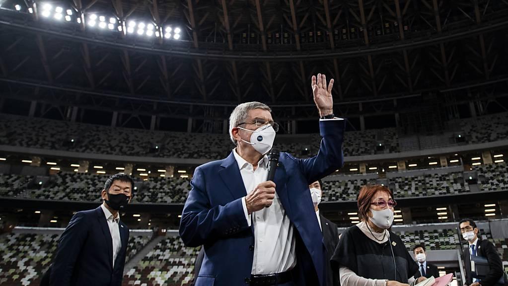 Weniger Wettbewerbe und Sportler: Das IOC mit Präsident Thomas Bach entschied über die Sportarten an den Olympischen Spielen 2024 in Paris