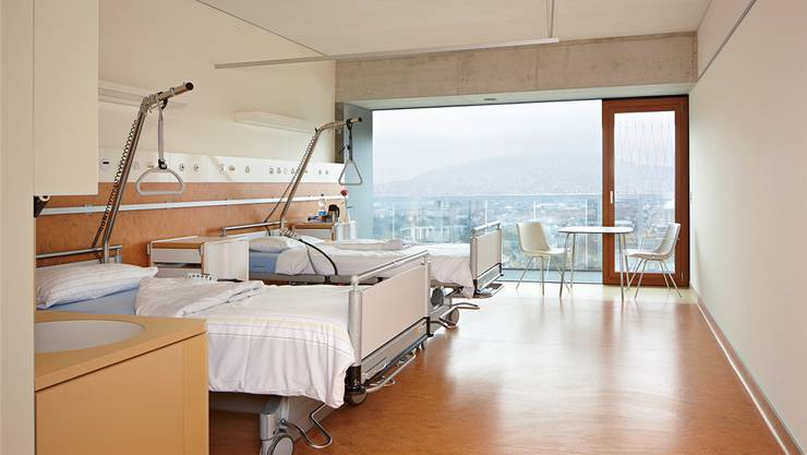 Die Unterschiede zwischen dem günstigsten und dem teuersten Spital sind deutlich kleiner geworden. Bild: Patientenzimmer im Zürcher Stadtspital Triemli.