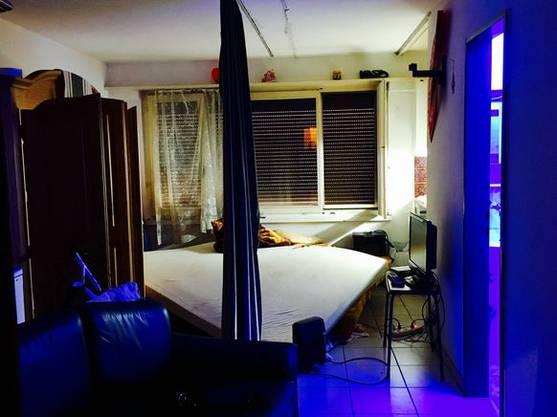 Die meisten Zimmer sind etwa 20 Quadratmeter gross, wie dieses.