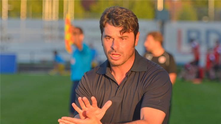 Trainer Ciriaco Sforza ist der Wohler Baumeister des Erfolgs.