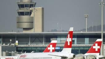 Der Flughafen Zürich (Archiv)