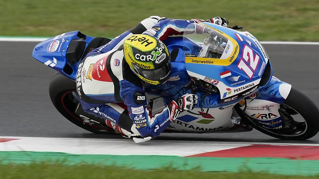Auf der Strecke seines letzten GP-Sieges noch nicht weit vorne dabei: Tom Lüthi