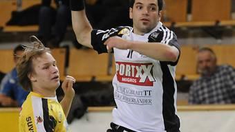 Thuns Sandro Badertscher traf auch gegen den RTV Basel
