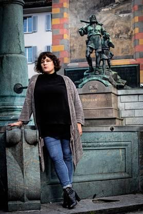 Satirikerin Patti Basler solidarisiert sich mit Flüchtlingen und hofft auf Unterstützung von Andreas Glarner.
