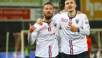 Fussball, Challenge League, FC Aarau - FC Thun (19.12)