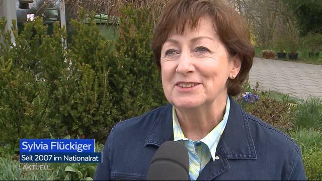 SVP-Nationalrätin Sylvia Flückiger hört auf