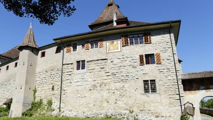 Die Kyburg bei Winterthur wird am 25. März zum Märchenschloss. Kinder erleben dort an Erzählnachmittagen Geschichten der Brüder Grimm (Archiv)