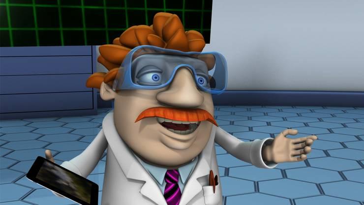 Professor Femto ist der helle Kopf in der fiktiven Forschungswelt des neuen Films.zvg