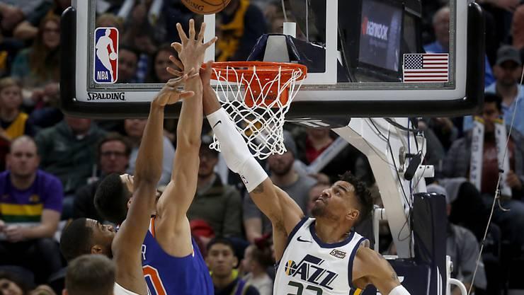 Thabo Sefolosha und die Utah Jazz starteten mit einer Niederlage in das neue Jahr