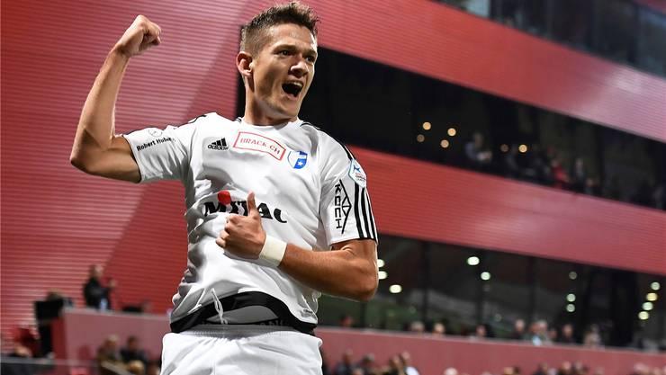 Kommt auf fünf Treffer und zwei Assists diese Saison: Janko Pacar.