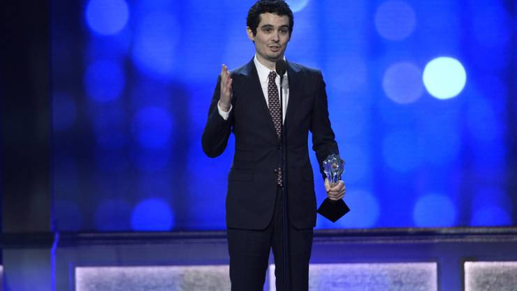 """Damien Chazelle wird für """"La La Land"""" als bester Regisseur bei den Critics' Choice Awards ausgezeichnet."""