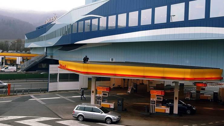 Die Autobahn-Raststätte in Würenlos (Symbolbild)