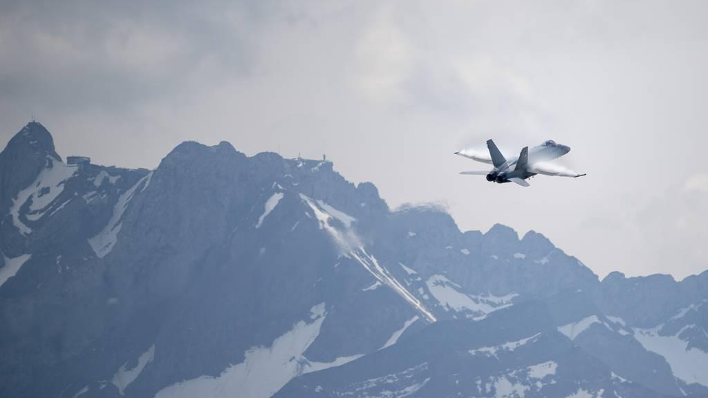 Sechs Milliarden für neue Kampfjets