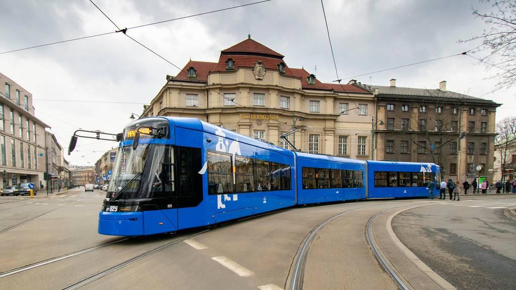Stadler Rail liefert weitere Strassenbahnen nach Krakau