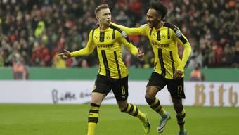 Die Dortmunder zogen gestern Abend in den Final des DFB-Pokals ein.