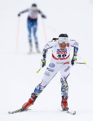 Die Schwedin Charlotte Kalla triumphierte in überragender Manier.