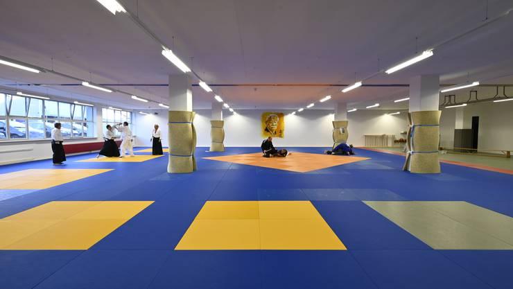 Im neuen Trainigslokal des Judo Clubs Grenchen gibt es jede Menge Platz.