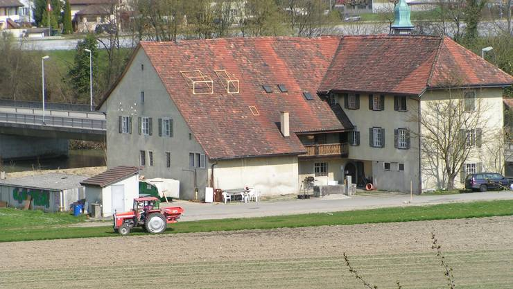Das ehemalige Fähr- und Gasthaus an der Reuss soll in ein Bijou zurückverwandelt werden. (nn)