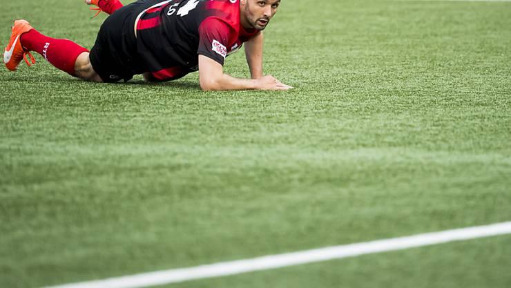 Raphael Nuzzolo hängt bei Neuchâtel Xamax eine Saison an