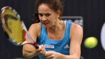 Patty Schnyder unterlag Melanie Oudin klar und deutlich