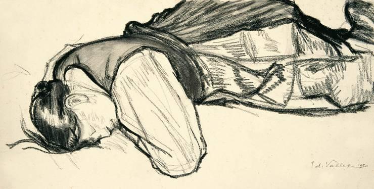 «Schlafende Frau» (1920)