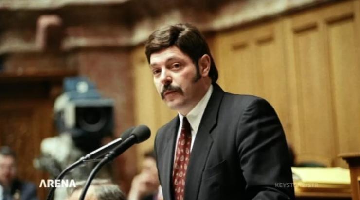 Ulrich Giezendanner vertritt seit 28 Jahren die SVP im Parlament.