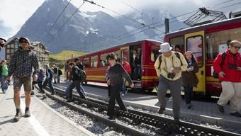 Jungfraubahn erzielt Rekord-Ergebnis.